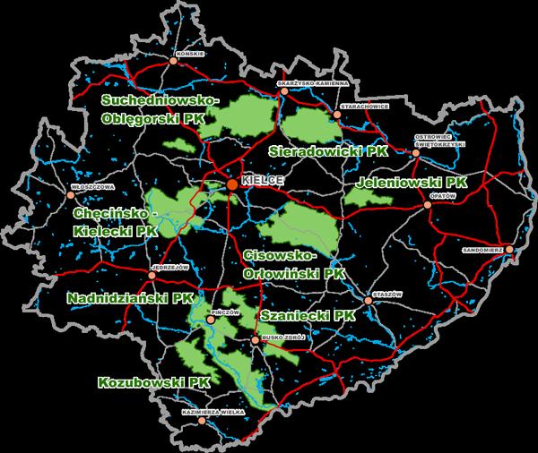 Parki mapa